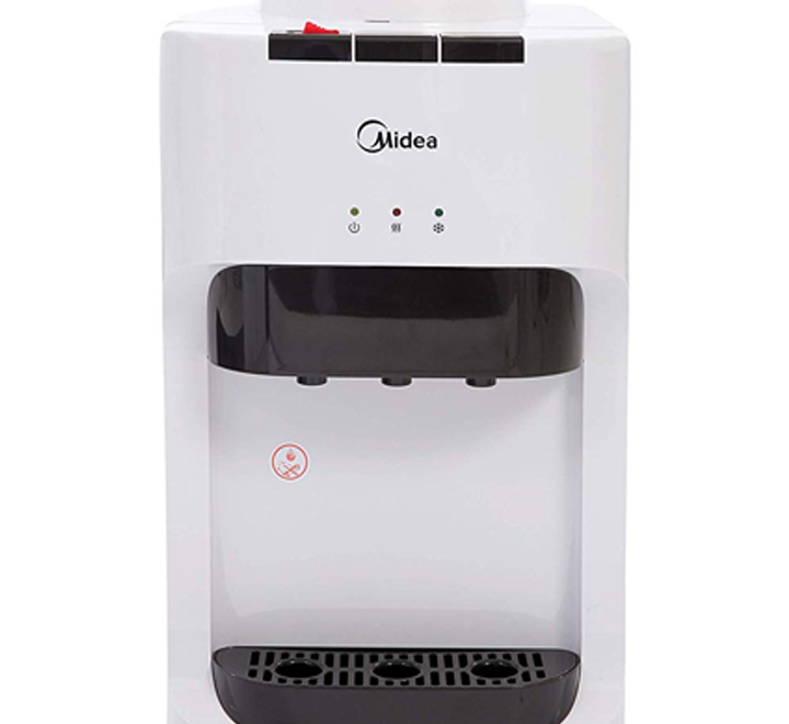 Midea Table Top Water Dispenser 3 Tap White Yl1635t Electronics Furniture Store